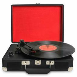 3-Speed Portable USB Turntable/ Vintage Vinyl Archiver Recor