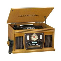 Victrola 7-in-1 Bluetooth Record Player With USB Recording H