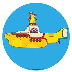 Crosley AC1016A-YS Turntable Slip Mat, The Beatles Yellow Su