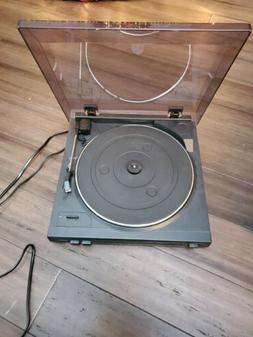 AUDIO TECHNICA AT-PL50 AUTOMATIC TURNTABLE RECORD PLAYER TES