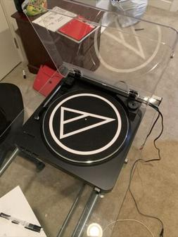 audio technica record player Model AT-LP60 With Small Record