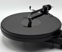 Black Acrylic Turntable Platter Mat. Fits PRO-JECT and Rega