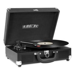 Bluetooth Audio Portable Suitcase Record Player With 3-speed