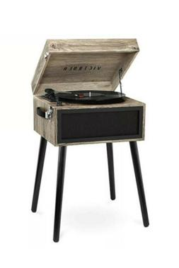 Victrola Bluetooth Record Player Stand w/3-Speed Turntable -