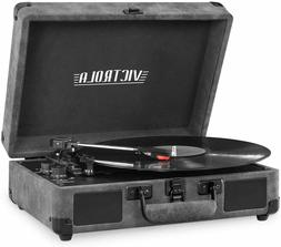 Victrola Bluetooth Suitcase Record Player with 3-Speed Turnt