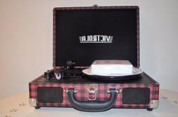 BRAND NEW Victrola™ 3-Speed Bluetooth Record Player in Red
