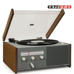 Crosley Otto Belt-Drive Turntable with Bluetooth, AM/FM Radi