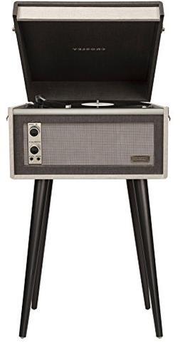 Crosley CR6233A-BK Dansette Bermuda Portable Turntable with