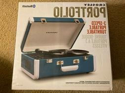 Crosley CR6252A-TU Portfolio Portable Turntable with Bluetoo