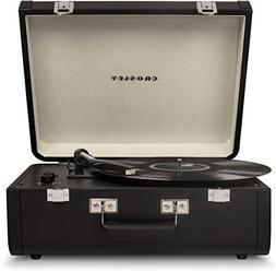 Crosley CR6252A-BK Portfolio Portable Turntable with Bluetoo