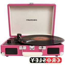Crosley CR8005D-PI Cruiser Bluetooth Deluxe Turntable Record