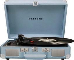 Crosley Cruiser Deluxe Vintage 3-Speed Bluetooth Suitcase Tu