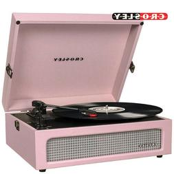 Crosley CR8017A-AM Voyager Vintage Portable Turntable with B