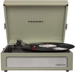 Crosley CR8017A-SA 3 Speed Voyager Portable Record Player Tu