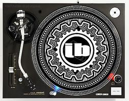 GEARED - DJ SLIPMAT 1200's or any turntable, LP record playe
