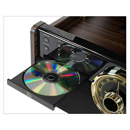 Victrola Mid with CD, Cassette and