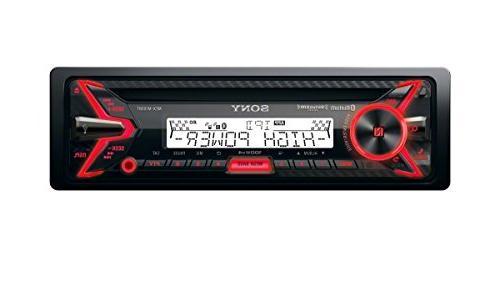 Sony - Cd/dm Receiver - Radio-ready