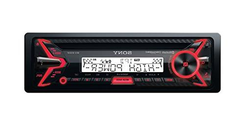 Sony - Receiver - Built-in - Satellite Radio-ready With Detachable - Black