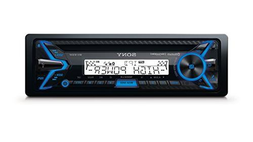 Sony In-dash Cd/dm Receiver - - Satellite With Detachable -