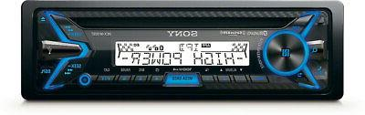Sony - In-dash Cd/dm Receiver - Built-in Bluetooth - Satelli
