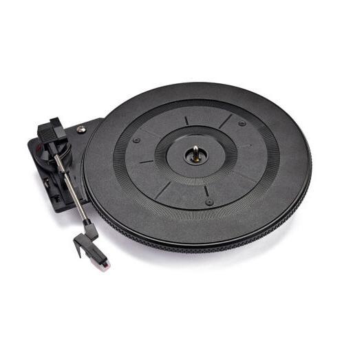 Alnicov Vintage Vinyl Record Player Turntable Audio