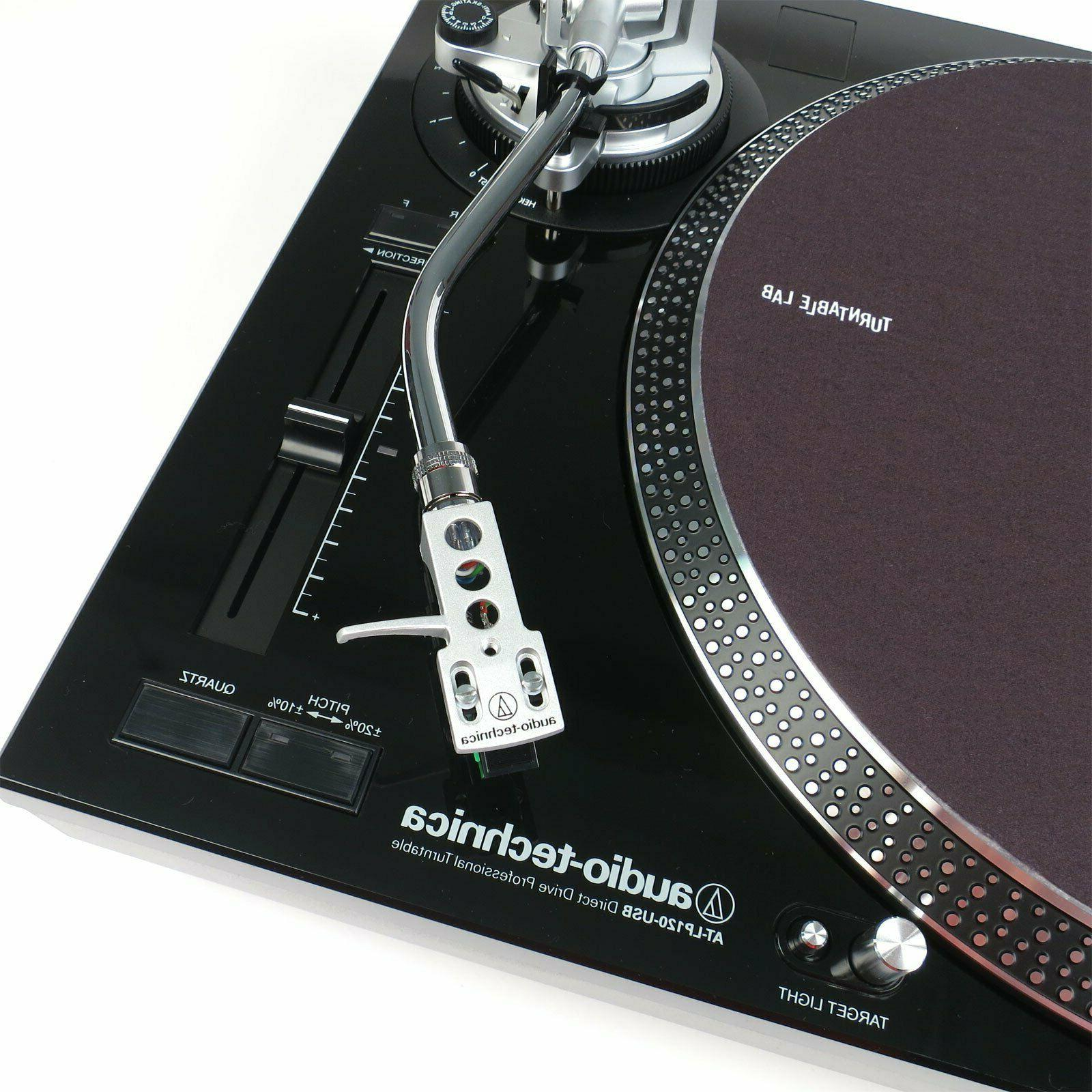 Audio-Technica Direct-Drive Stereo Turntable