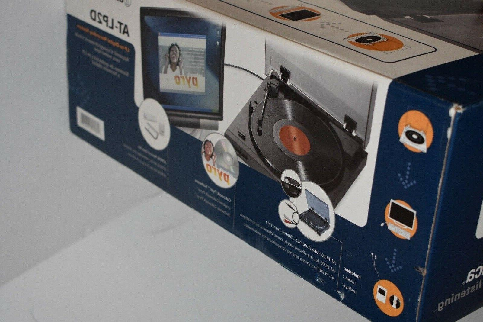 Audio-Technica AT-LP2D / Record Player / Recorder