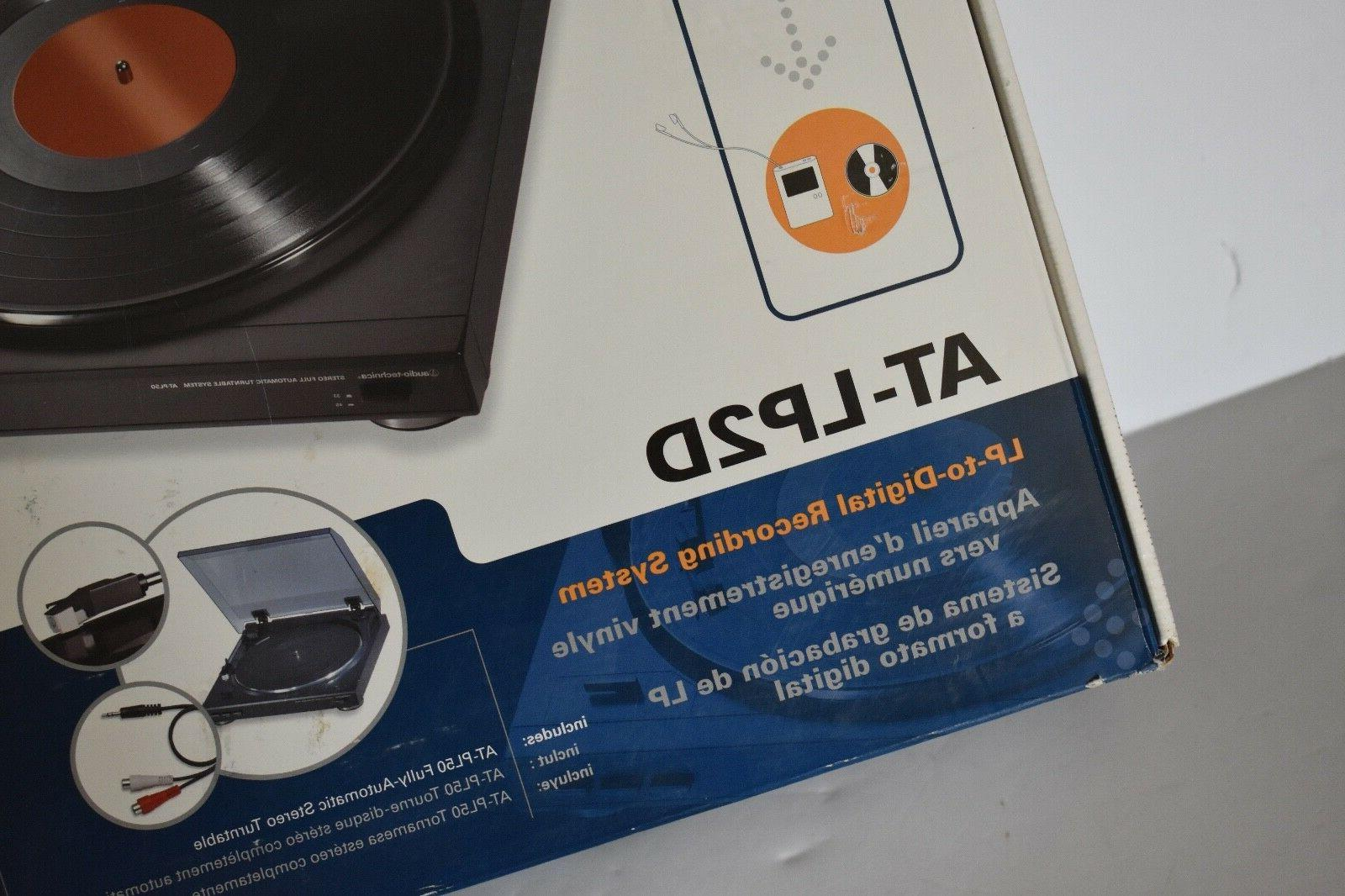 Audio-Technica Turntable / Recorder