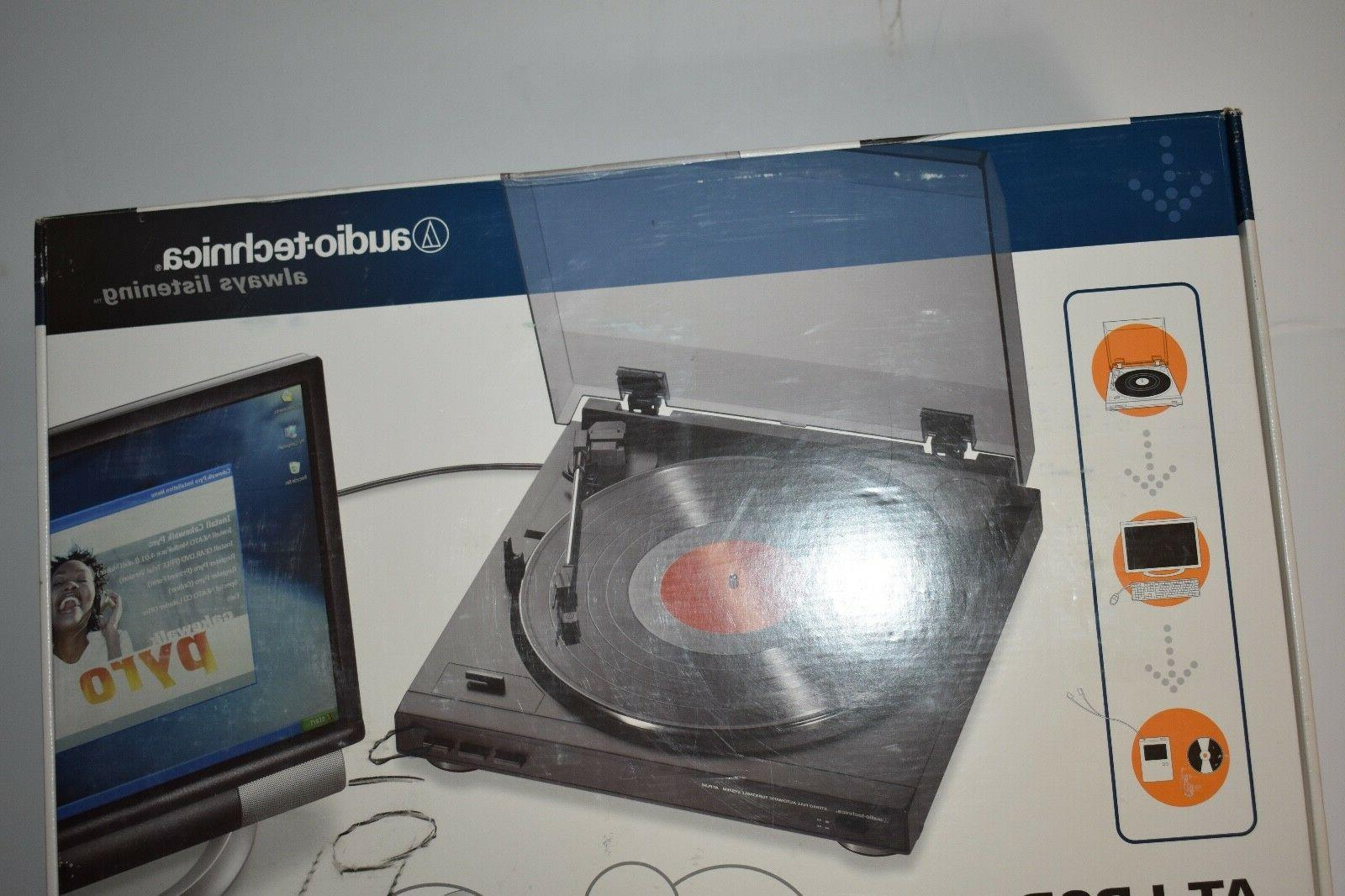 audio technica at lp2d usb turntable record