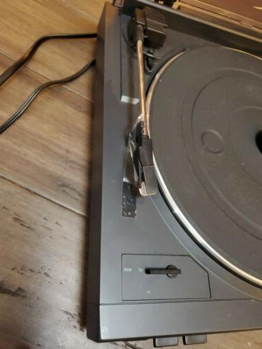 AUDIO AUTOMATIC TURNTABLE RECORD dual