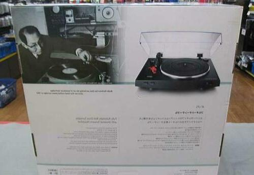 AUDIO-TECHNICA AT-LP3 Belt drive Fully turntable