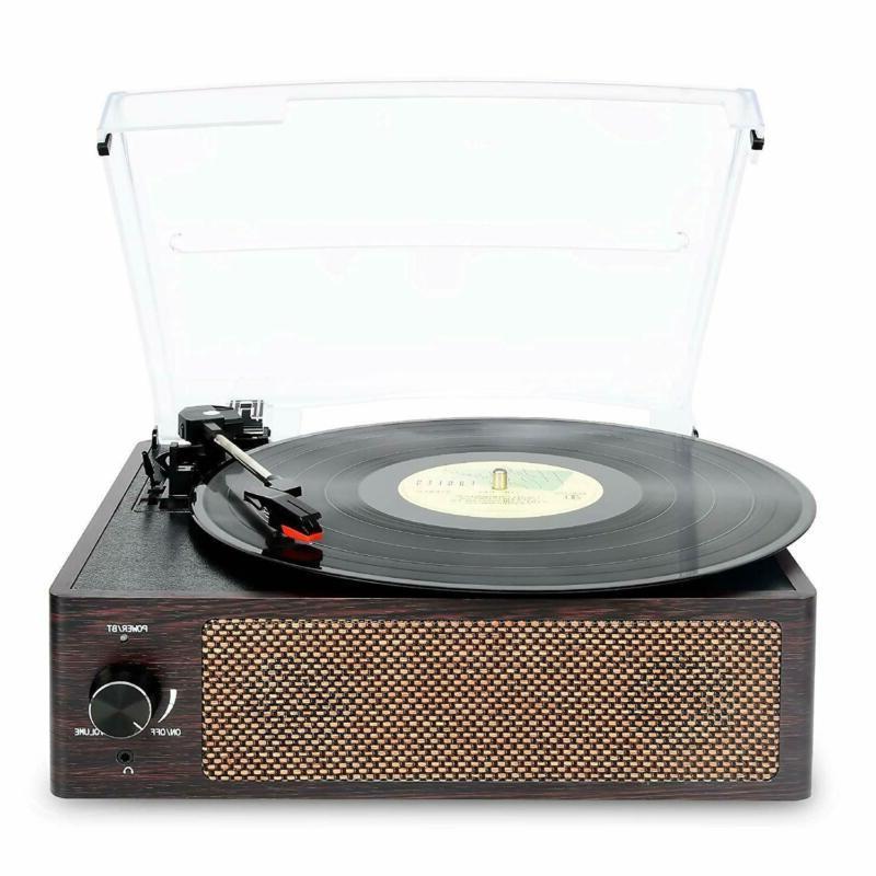 Bluetooth Player 3-Speed Turntable, Vinyl Record