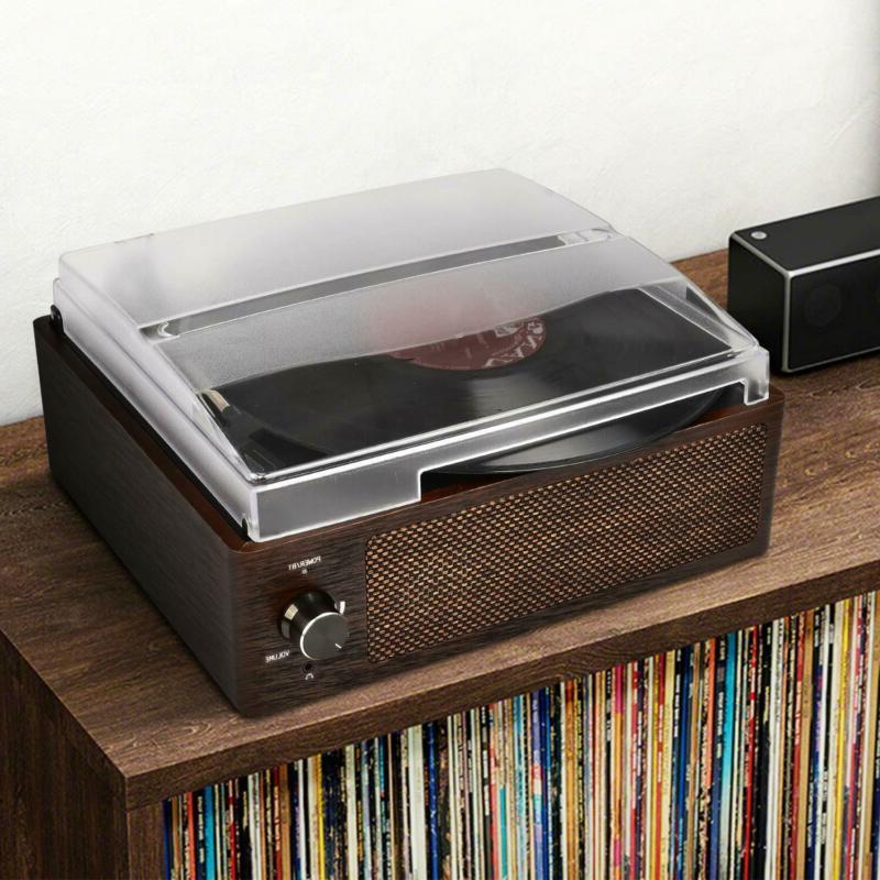Bluetooth Record Player 3-Speed Vintage Vinyl Record