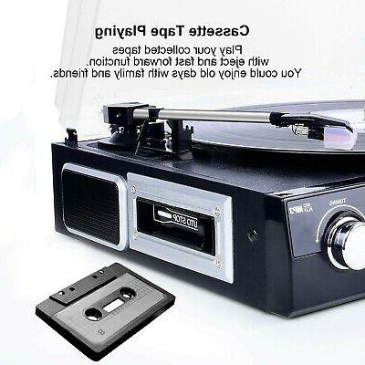 DIGITNOW with Stereo Speakers, Turntable