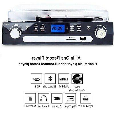 DIGITNOW Bluetooth Record with Stereo for