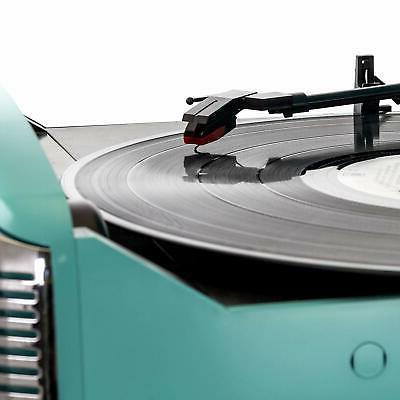 BLUETOOTH LP RPM RECORD PLAYER FM RECEIVER SYSTEM