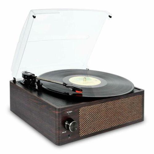 Record Vinyl Bluetooth Turntable Belt-Drive