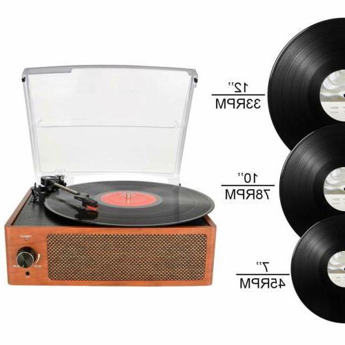 Bluetooth Vintage Vinyl Player