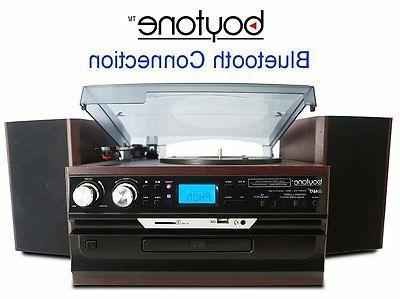Boytone Player Stereo System CD Cassette AM/