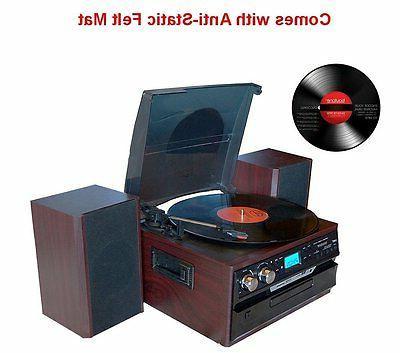Boytone BT-24DJM Bluetooth Player System CD Cassette