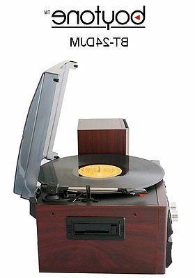 Boytone Player Turntable CD AM/