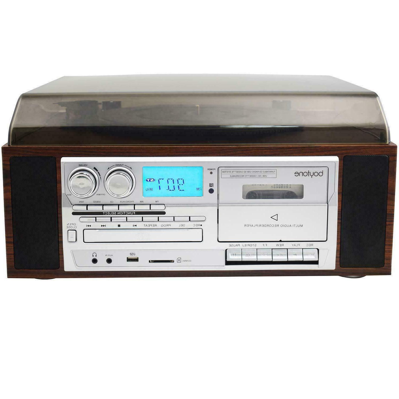 Boytone BT-38SM Record Player CD / Cassette