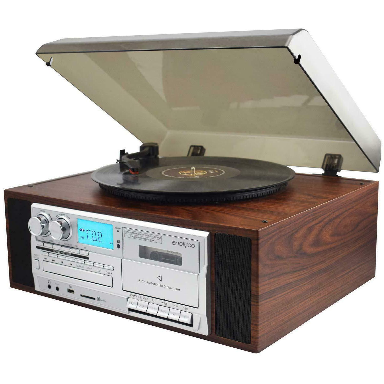 Boytone BT-38SM Record AM/FM / Cassette