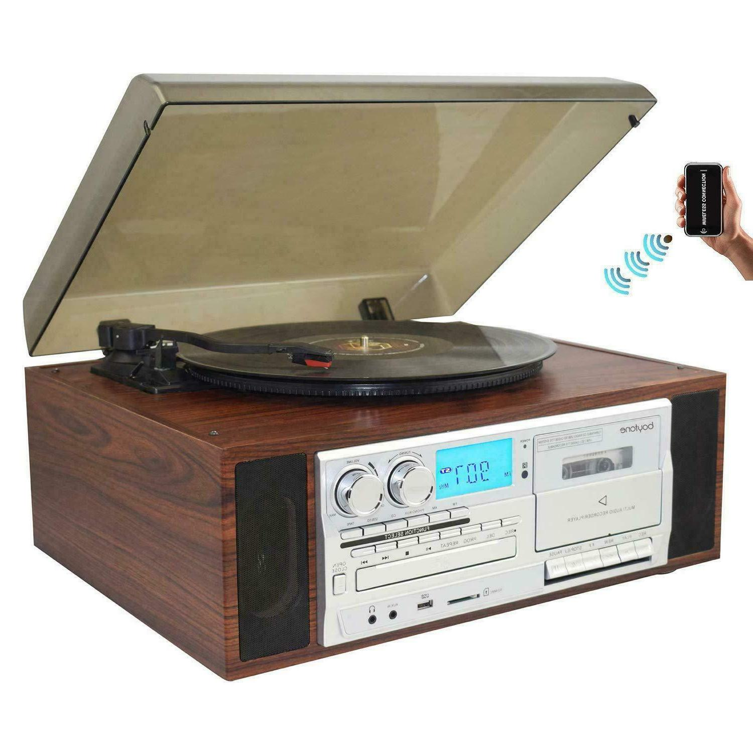 bt 38sm bluetooth turntable record player am