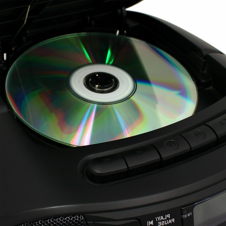 JENSEN Portable Recorder Boombox CD Player AM/FM Radio