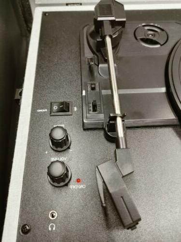 Crosley Speed Voyager Turntable - Gray