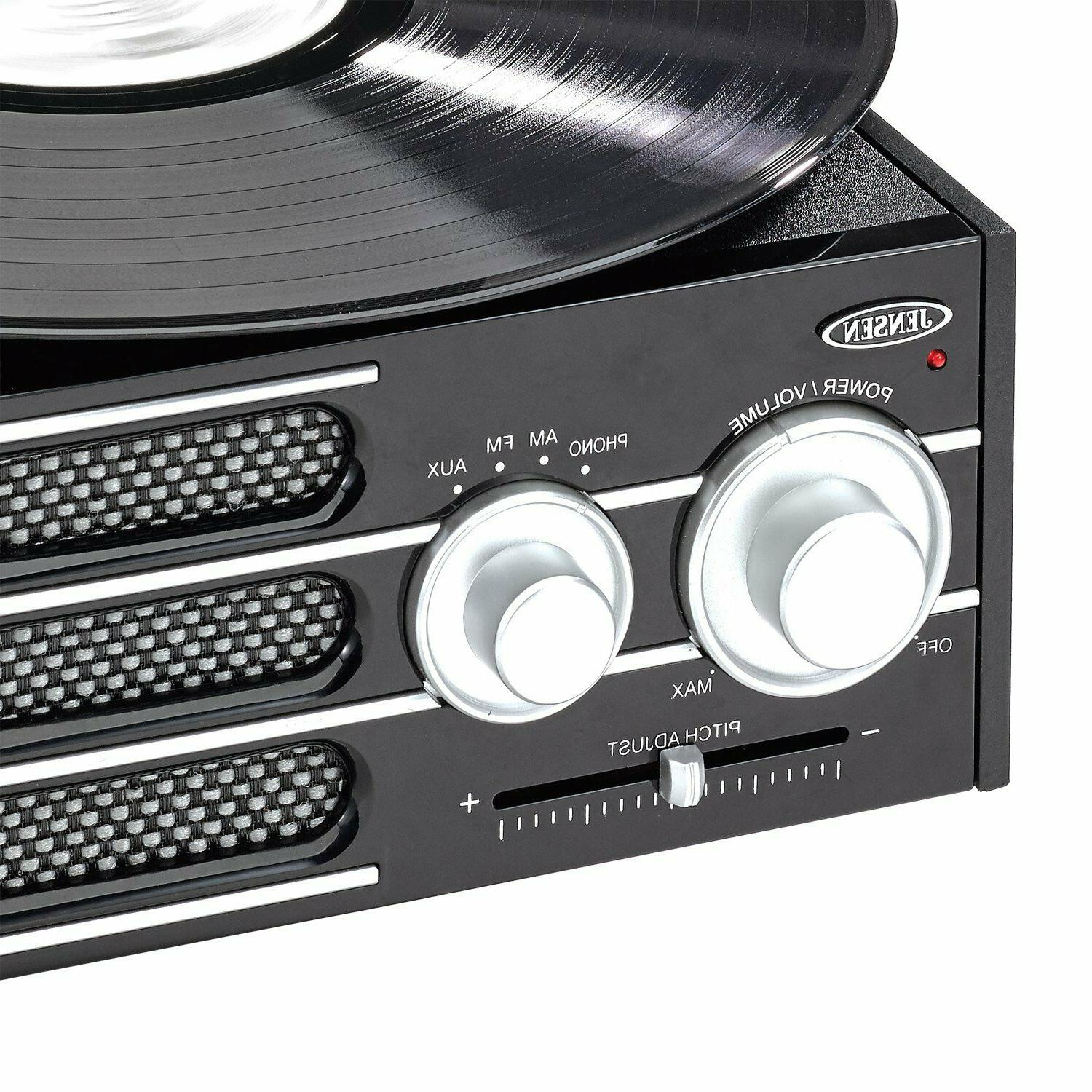 NEW Jensen 3-Speed Player Turntable RCA Software
