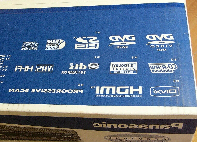 NEW DMR-EZ475V 1080p VHS DVD Player Tuner