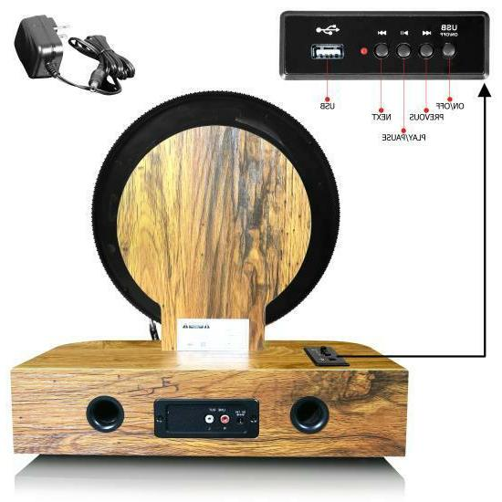 Pyle PLTT21BT Vintage BT Record Player