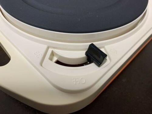 Portable VACUUM RECORDS audio-technica AC